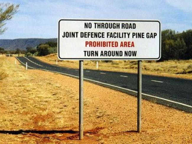 This is the closest most of us will ever get to Pine Gap.