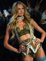 Romee Strijd walks the runway during the 2016 Victoria's Secret Fashion Show on November 30, 2016 in Paris, France. Picture: AFP