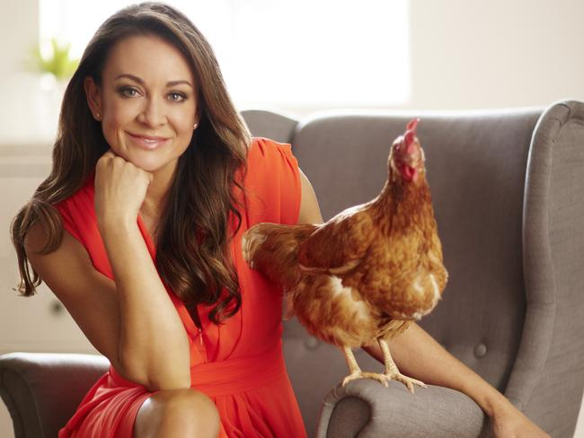 Strong opinions ... Michelle Bridges has backed a campaign by the RSPCA for organic eggs in the past.
