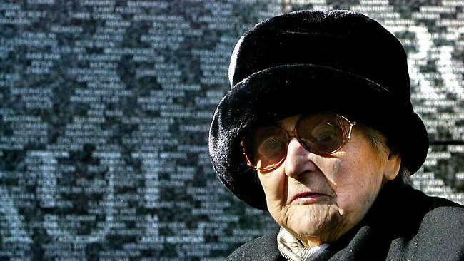 BRAVE LIFE: Nancy Wake - pictured here at the Australian War Memorial in London's Hyde Park - is Australia's most decorated servicewoman from WWII, holding France's Legion d'Honneur, Britain's George Medal and the US Medal of Freedom. She died in a London hospital on August 7, 2011, just days short of her 99th birthday.