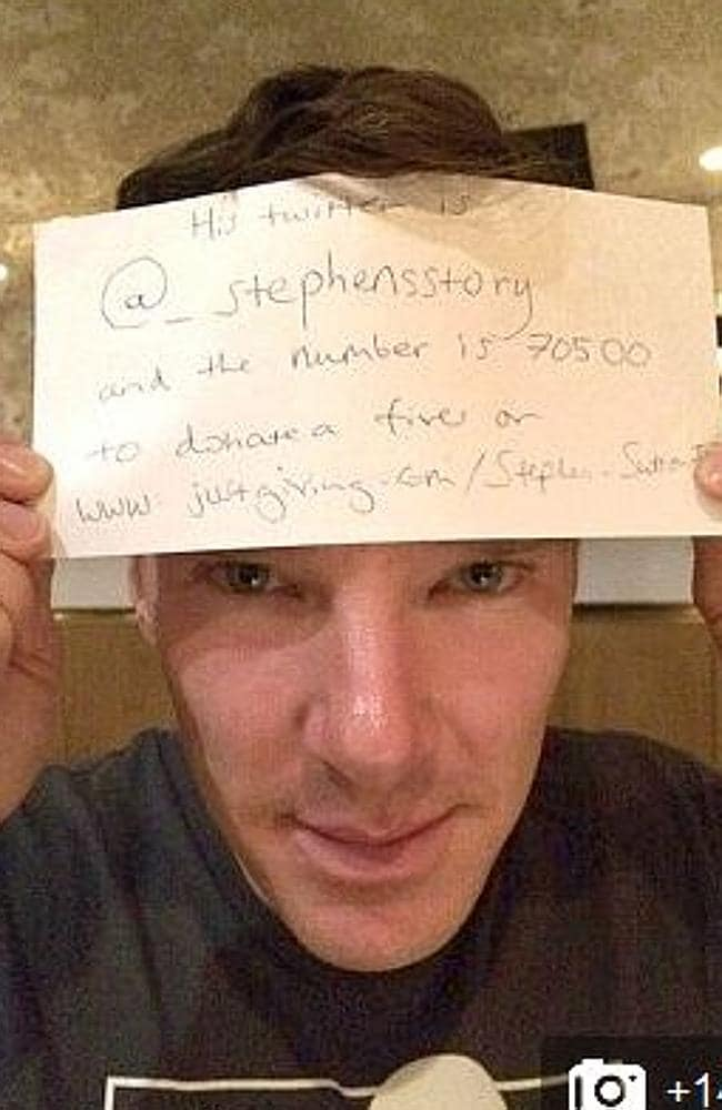 Actor Benedict Cumberbatch of Sherlock Holmes fame is one a several British celebrities a