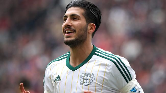 Leverkusen midfielder Emre Can is set for a move to Anfield.