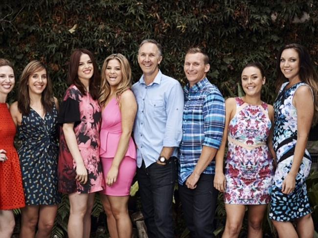 MKR's final four teams: Bree, and Jess, Helena and Vikki, Paul and Blair, and Chloe and Kelly.