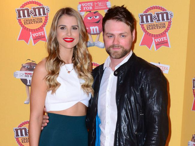 McFadden and wife Vogue Williams in April last year. The pair are now separated. Picture: Splash