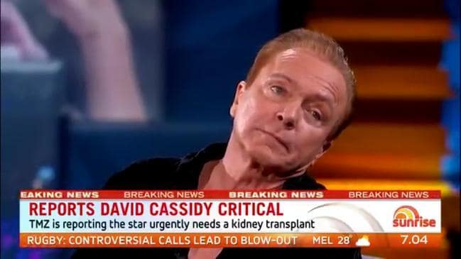 Image result for david cassidy news