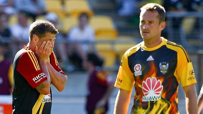 Ben Sigmund and Glen Moss of the Phoenix do some soul searching after a humiliating loss.