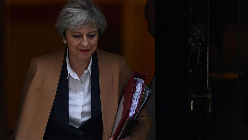 British Prime Minister Theresa May has formally launched the process for leaving the European Union. Picture: AFP/Ben Stansall