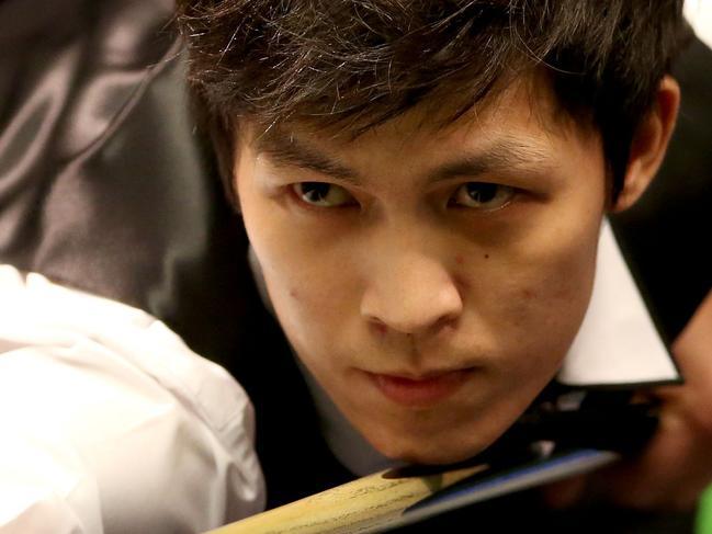 Un-Noooooh! Thai snooker star's 147 fail