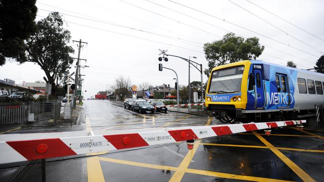 Removing level crossings is a top priority for voters.