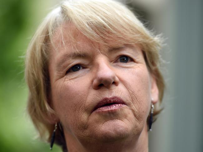 Greens Senator Janet Rice also says the research adds weight to the argument for same sex marriage to be made legal. Picture: AAP Image/Mick Tsikas