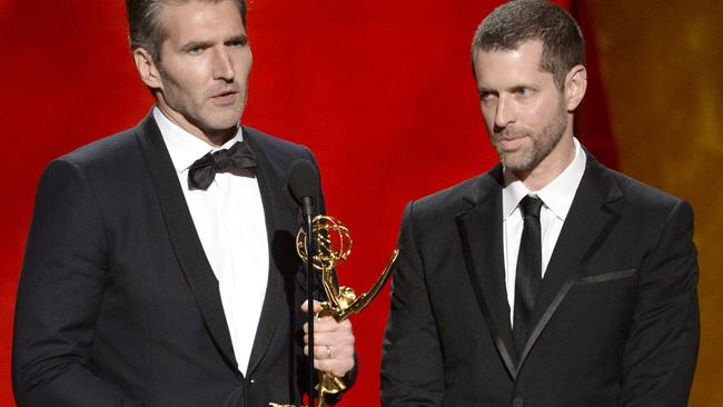David Benioff and D.B. Weiss. Picture: AP