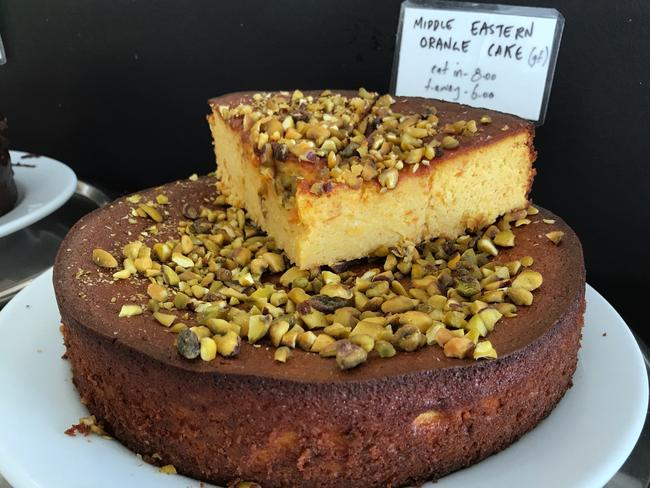 Envy Deli Cafe's homemade cake. Picture: Jenifer Jagielski
