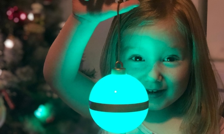 The Christmas bauble that will turn your kids into perfect angels