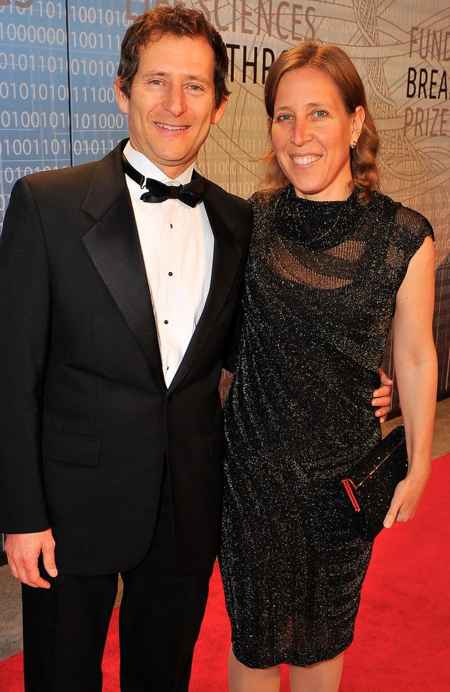 Susan Wojcicki with husband Dennis Troper.