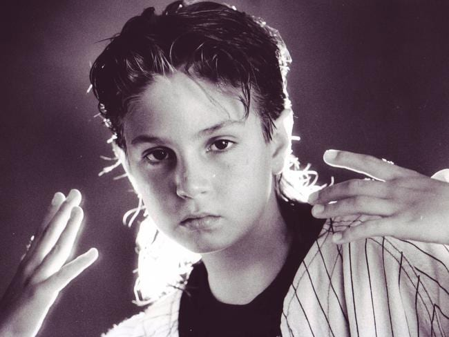 Wade Robson as a child performer.