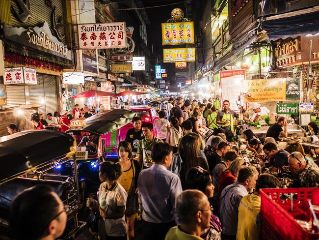 Chinatown is known for its excellent street food. Picture: Istock