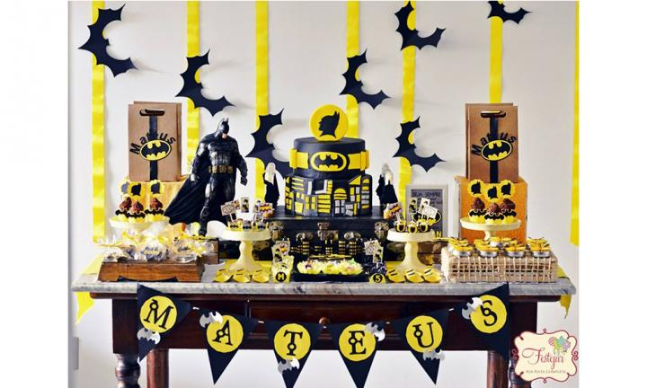 Holy chocolate crackle, Batman! It's the world's best superhero party!