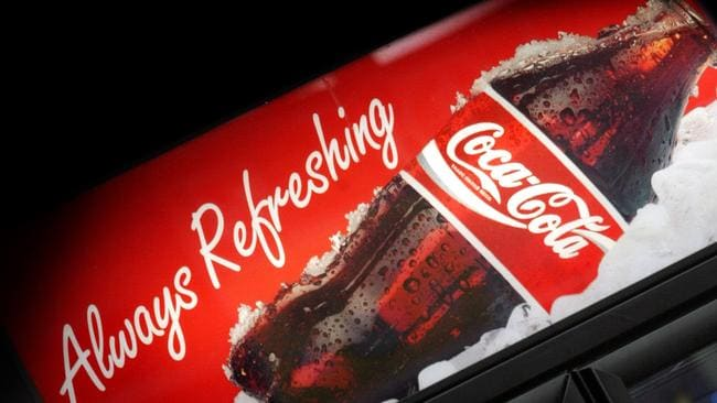Sweet tooth ... Australians consume 447 million litres of cola flavoured beverages each year. Picture News Corp.