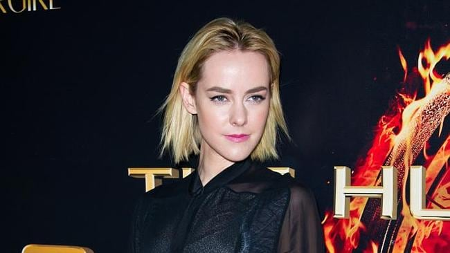 Jena Malone looked every bit as feisty as her Hunger Games character, Johanna Mason. Picture: Splash