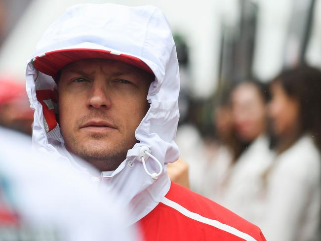 'What the hell is going on?' Kimi had a spat coming out of turn 12 early on.