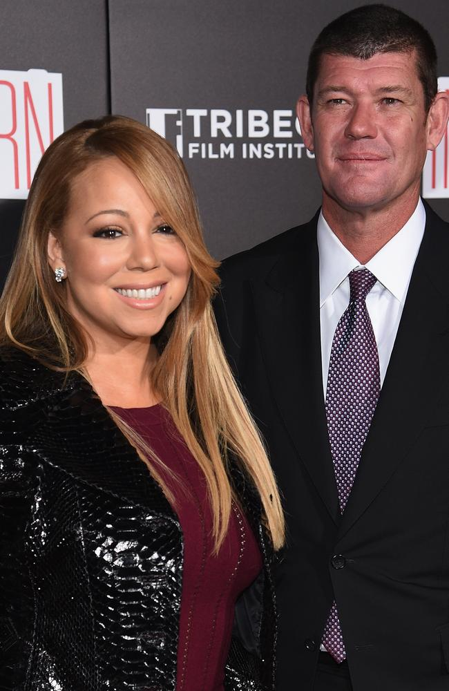 Engaged ... Mariah Carey and James Packer are set to tie the knot. Picture: Dimitrios Kambouris/Getty Images
