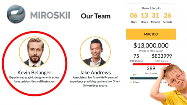 Miroskii's 'Our Team' page. Photo: Miroskii/The Next Web