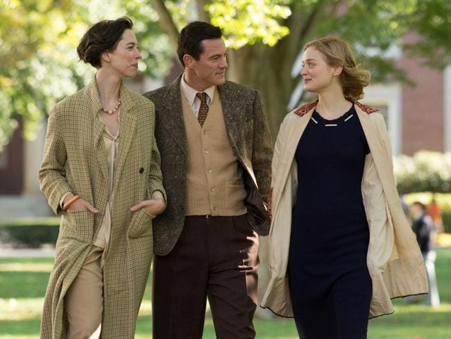 Bella Heathcote, Rebecca Hall and Luke Evans star in  <i>Professor Marston and the Wonder Women </i>movie.