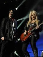 "15. Orianthi - ""She just happens to be one of the best players on the planet."" Richie Sambora. Singer Michael Jackson with Australian guitarist Orianthi rehearsing for 'This Is It' tour in a scene from 2009 documentary film 'This Is It' . Picture: Sony Pictures."