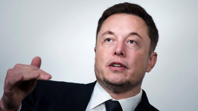 SpaceX and Tesla CEO Elon Musk in Washington DC on July 19. Picture: AFP/Brendan Smialowski