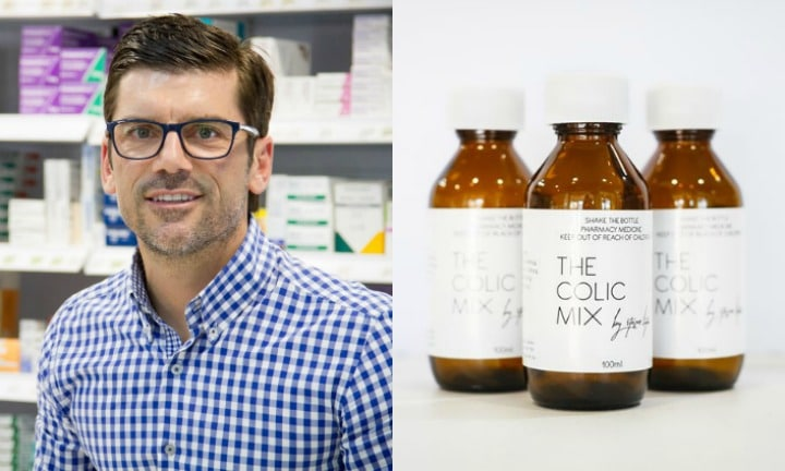 This pharmacist has a colic remedy that mums swear by