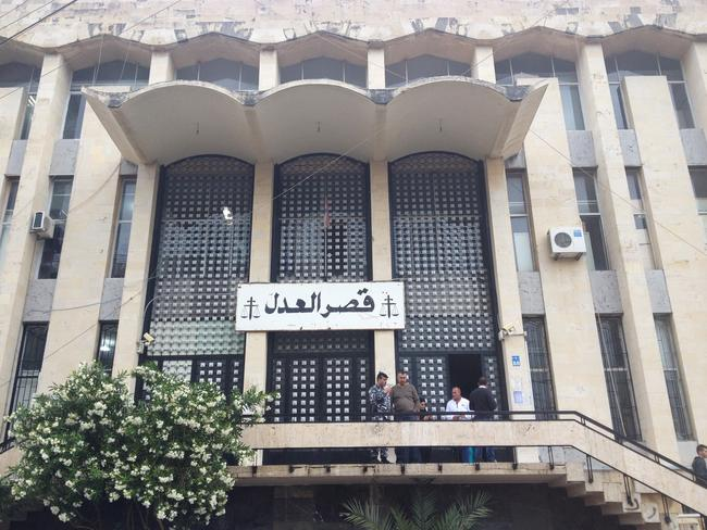 Baabda Palace of Justice in Lebanon — Detention Centre and courthouse complex / Supplied