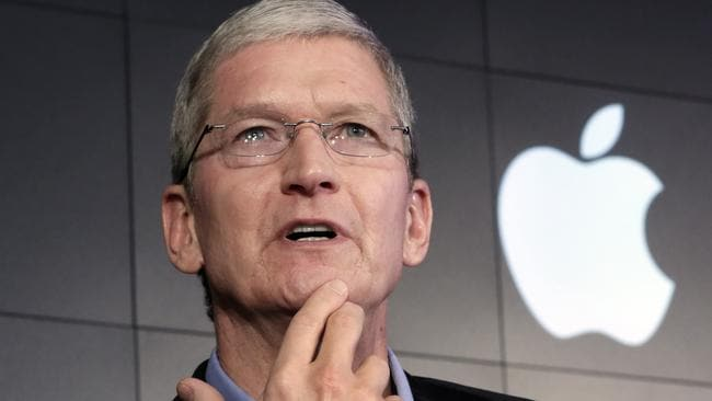 The federal court ruling in New York is good news for Apple CEO Tim Cook. Picture: AP/Richard Drew
