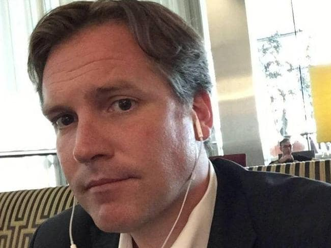Eric Bellquist is a millionaire American banker. Picture: Facebook