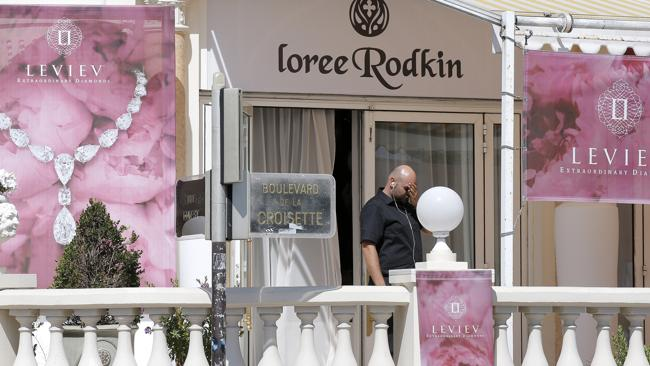 Another view of the Carlton Hotel, which was hosting a temporary jewellery exhibit over the summer of the prestigious Leviev diamond house, which is owned by Israeli billionaire Lev Leviev. (AP Photo/Lionel Cironneau)