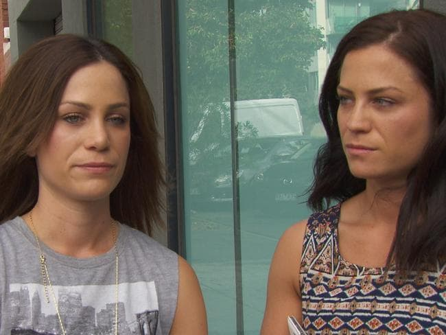 Alisa and Lysandra react badly to poor scores for their bathroom on  <i>The Block: Fans v Faves</i>.