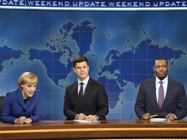 You're better off going to a free taping of Saturday Night Live instead. Picture: Will Heath/NBC via AP