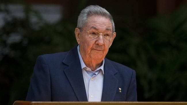 Current president Raul Castro succeeded his brother Fidel in 2008. Picture: AFP/Cuba Debate/Ismael Francisco
