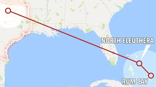 New Bermuda Triangle mystery as newlyweds' plane vanishes over the Bahamas on honeymoon two weeks ago