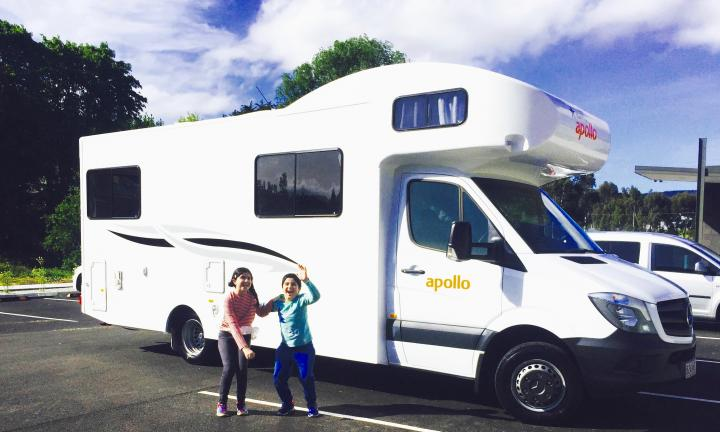 This mum says a motorhome roadtrip is the best way to see Tassie