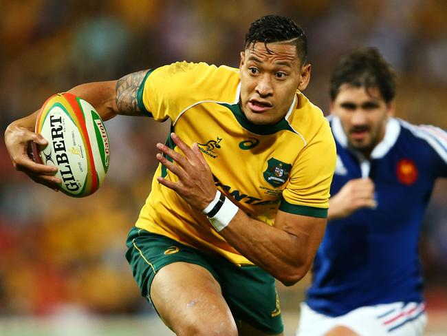 Israel Folau is on the cusp of becoming a giant of world rugby.