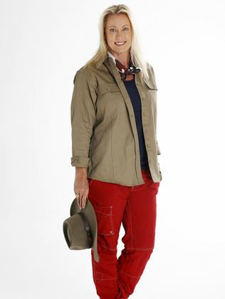 I'm A Celebrity contestant Lisa Curry in clean camp clothes. Picture: Nigel Wright / Channel 10
