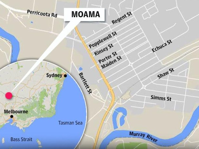A five-year-old boy's body was found round 11.35 this morning by police divers who scoured the rivers, near Moama in southern New South Wales.