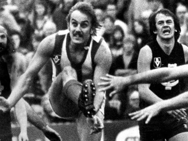 Malcolm Blight is famed for his 80m goal to win against Carlton.