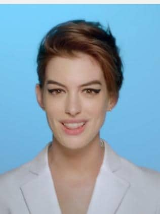 From a glammed-up Anne Hathaway ...