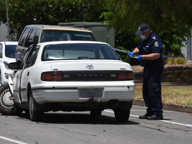 A MAN was assaulted in a road rage incident on Waterloo Corner Rd at the intersection of Salisbury Hwy.  The victim attempted to drive himself to the Lyell McEwin Hospital but then crashed his car into a parked car on Oldham Rd. - picture Bernard Humphreys
