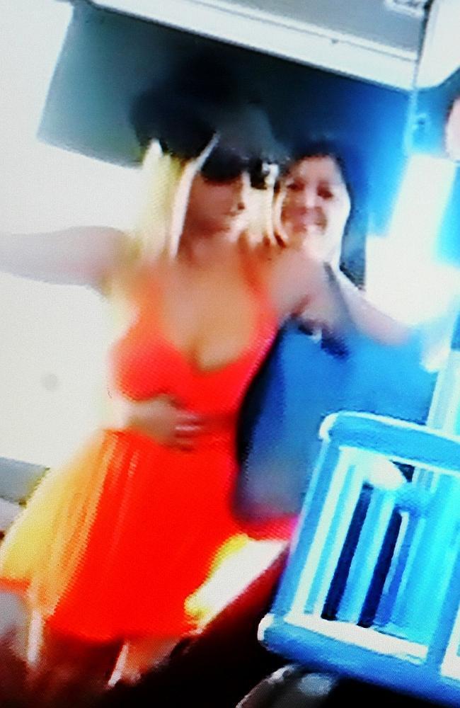 Two women have been charged over the Gold Coast bus assault. Picture: Supplied