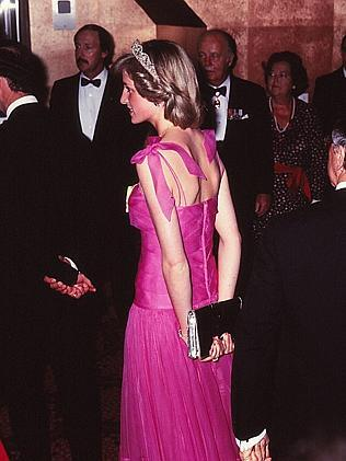 Diana still lacked confidence in 1981. Picture: Ted Holliday