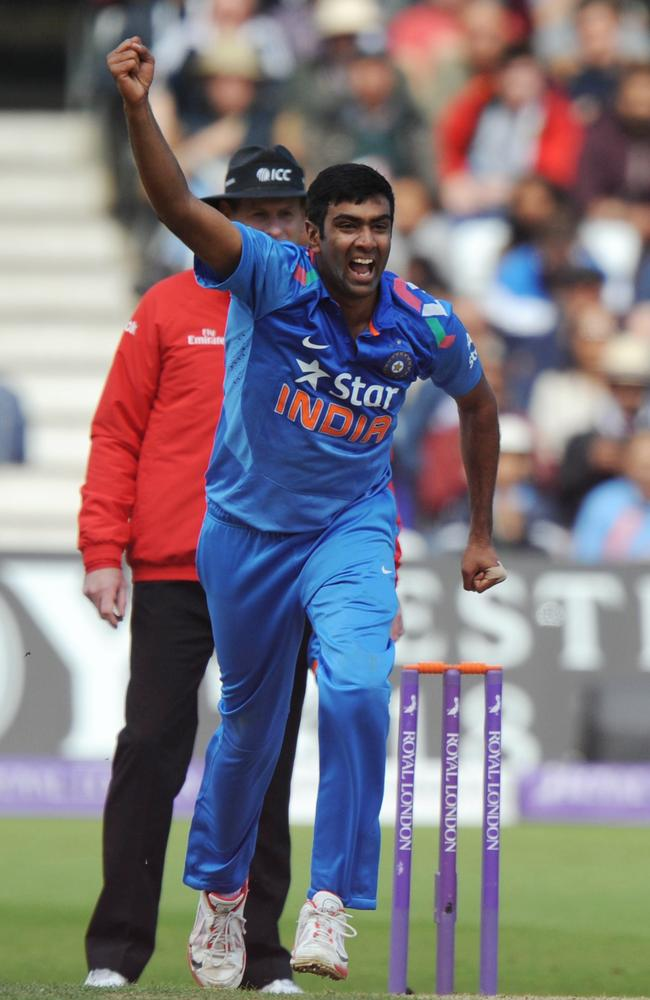 Ravi Ashwin took three wickets in India's win over England on Saturday.