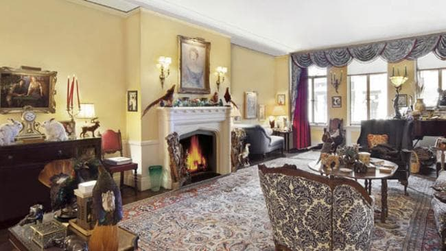The listing agent has put up photos of the property without the full collection of animals. Pictures: Halstead Property.