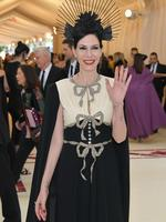 Jill Kargman attends the Heavenly Bodies: Fashion and The Catholic Imagination Costume Institute Gala at The Metropolitan Museum of Art on May 7, 2018 in New York City. Picture: Getty Images